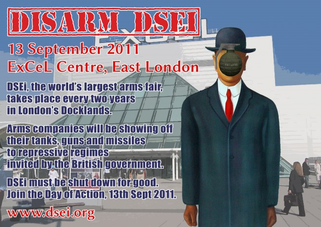 Disarm DSEi - 13 September 2011 - ExCeL Centre, East London